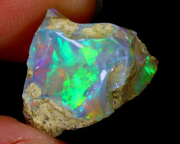 5cts Natural Ethiopian Welo Rough Opal / WR3224