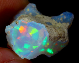 5cts Natural Ethiopian Welo Rough Opal / WR3226