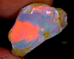 5cts Natural Ethiopian Welo Rough Opal / WR3247