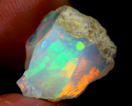 4cts Natural Ethiopian Welo Rough Opal / WR3256