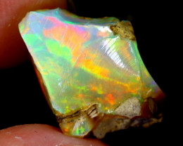 5cts Natural Ethiopian Welo Rough Opal / WR3257