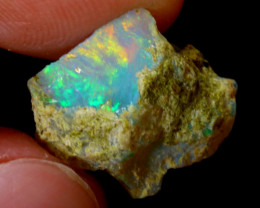 4cts Natural Ethiopian Welo Rough Opal / WR3251