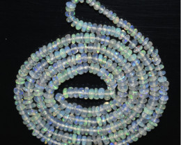 17.10 Ct Natural Ethiopian Welo Opal Beads Play Of Color OB1085