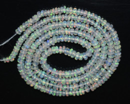 17.40 Ct Natural Ethiopian Welo Opal Beads Play Of Color OB1089