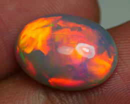 4.860 CRT GORGEUS DARK BASE BROADFLASH NEON PATTERN FIRE DELUXE COLOR WELO