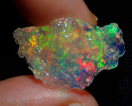 12.8ct Natural Rough Mexican Fire Opal