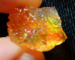 9.12ct -#A7 - Natural Rough Mexican Fire Opal