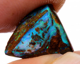 3.25cts Australian Yowah Wood Fossil Opal Rub  DO-221