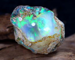 13.59Ct Bright Color Natural Ethiopian Welo Opal Rough DT0016
