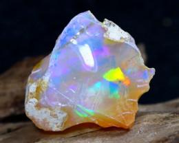 9.09Ct Bright Color Natural Ethiopian Welo Opal Rough DT0020