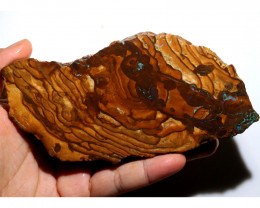 935 CTS LARGE YOWAH SLAB WITH FIREY COLOURS [BY9447]