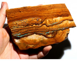 1111 CTS LARGE YOWAH SLAB WITH FIREY COLOURS [BY9453]