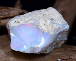 16.23Ct Bright Color Natural Ethiopian Welo Opal Rough DT0057