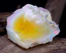 19.41Ct Bright Color Natural Ethiopian Welo Opal Rough DT0059