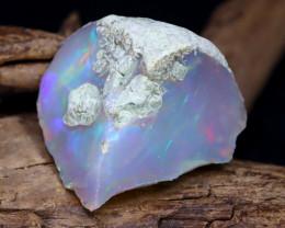 16.52Ct Bright Color Natural Ethiopian Welo Opal Rough DT0033