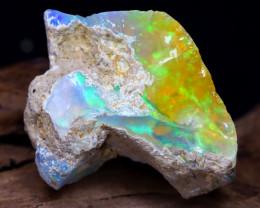 21.51Ct Bright Color Natural Ethiopian Welo Opal Rough DT0045