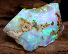 14.29Ct Bright Color Natural Ethiopian Welo Opal Rough DT0073