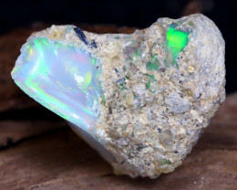 13.26Ct Bright Color Natural Ethiopian Welo Opal Rough DT0076