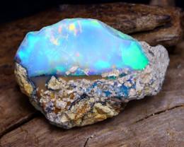 7.32Ct Bright Color Natural Ethiopian Welo Opal Rough DT0088