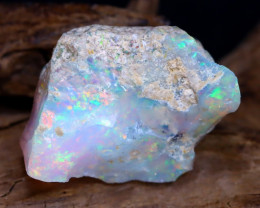 12.17Ct Bright Color Natural Ethiopian Welo Opal Rough DT0106