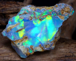 14.40Ct Bright Color Natural Ethiopian Welo Opal Rough DT0121