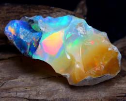10.31Ct Bright Color Natural Ethiopian Welo Opal Rough DT0124