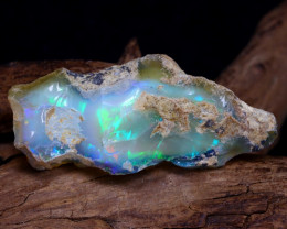 16.50Ct Bright Color Natural Ethiopian Welo Opal Rough DT0126