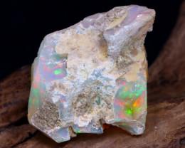 18.79Ct Bright Color Natural Ethiopian Welo Opal Rough DT0148