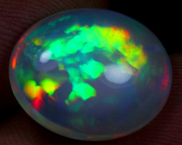 8.00cts Top 5/5 Rainbow Fire Natural Ethiopian Welo Opal