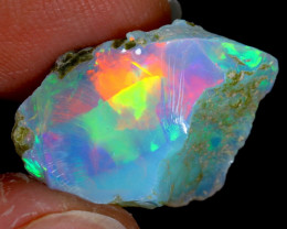 7cts Natural Ethiopian Welo Rough Opal / WR3341