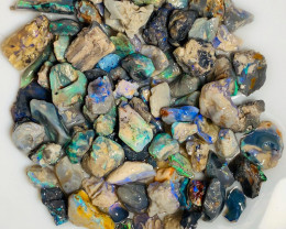 Multicolour Nobby Rough Opals - Good Potential