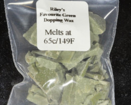 Green Dopping Wax- Riley's Favourite  65C/149F [28576]