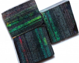 159.29 CTS ANDAMOOKA MATRIX ROUGH  SLABS-SIMILAR PATTERN [BY9495]