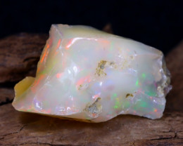 24.09Ct Bright Color Natural Ethiopian Welo Opal Rough DT0178