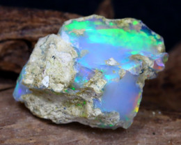 10.44Ct Bright Color Natural Ethiopian Welo Opal Rough DT0186