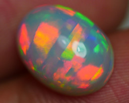 3.175 CRT GORGEUS RIBBON CHAFF PATTERN FIRE COLOR WELO OPAL