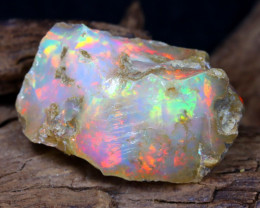 21.43Ct Bright Color Natural Ethiopian Welo Opal Rough DT0191