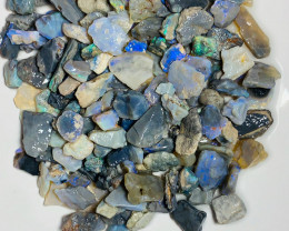 Colourful Dark Opal Rough - Potential Gamble of Colours