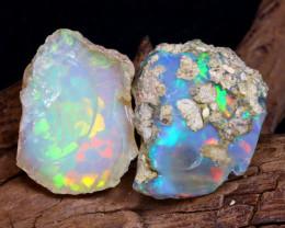 33.16Ct Bright Color Natural Ethiopian Welo Opal Rough DT0203