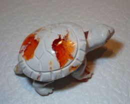 Gemmy Mexican Carving Figurine Fire Opal