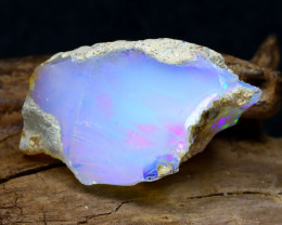 14.41Ct Bright Color Natural Ethiopian Welo Opal Rough DT0208