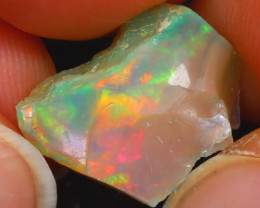 5.60Ct Multi Color Play Ethiopian Welo Opal Rough JN227/R2