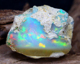 10.88Ct Bright Color Natural Ethiopian Welo Opal Rough DT0212