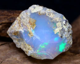 14.10Ct Bright Color Natural Ethiopian Welo Opal Rough DT0213