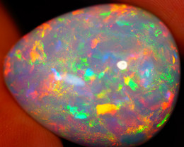 23.00 CT MULTI FIRE PATTERN!! RARE MULTI COLOR WELO ETHIOPIAN OPAL-EAA161