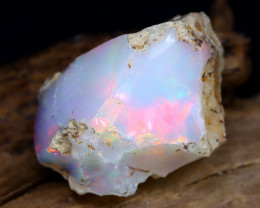 13.72Ct Bright Color Natural Ethiopian Welo Opal Rough DT0239