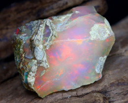 11.49Ct Bright Color Natural Ethiopian Welo Opal Rough DT0243