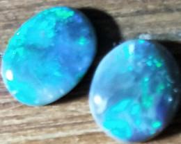 1.49cts Black Opal Pair MTY-726