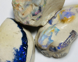 BIG NOBBY ROUGH OPALS WITH NICE COLOURS - 180 CTS #1049
