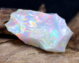 Welo Rough 9.37Ct Natural Ethiopian Play Of Color Rough Opal F1004